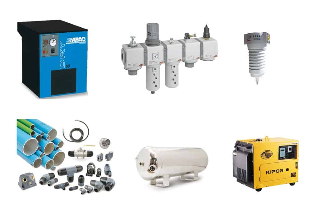 Compressed air systems - AVS Oy